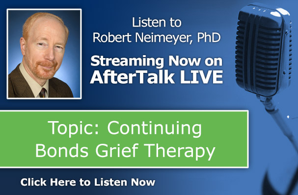 Robert Neimeyer After Talk Live - Continuing Bonds Grief Therapy